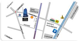 แผนที่สำนักงานกองทุนหมู่บ้านและชุมชนเมืองแห่งชาติ
