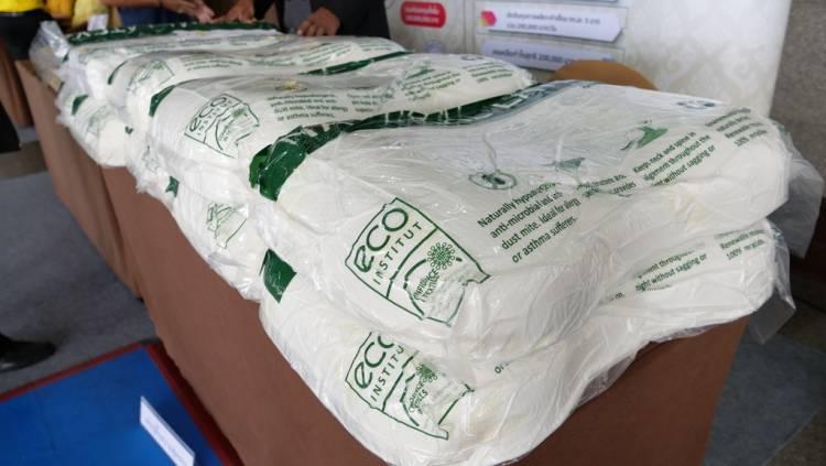 """สมาชิกกองทุนหมู่บ้านและชุมชนเมือง  (กรุงเทพมหานคร) ได้เข้ารับฟังการสัมนาพิเศษ หัวข้อ """"จับชีพจรประเทศไทย..หลังเลือกตั้ง"""" ณ หอประชุมกองทัพบก"""