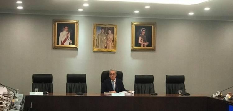 นายสมคิด จาตุศรีพิทักษ์ รองนายกรัฐมนตรี เป็นประธานการประชุมคณะกรรมการกองทุนหมู่บ้านและชุมชนเมืองแห่งชาติ ครั้งที่ ๑/๒๕๖๒ ณ ห้องประชุม ๓๐๑ ตึกบัญชาการ ทำเนียบรัฐบาล