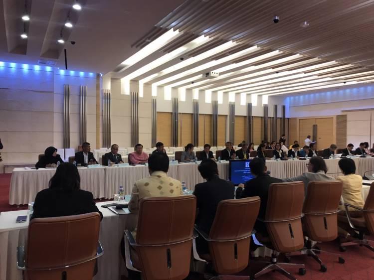 การประชุมคณะกรรมการกองทุนหมู่บ้านและชุมชนเมืองแห่งชาติ (กทบ.) ครั้งที่ 1/2563