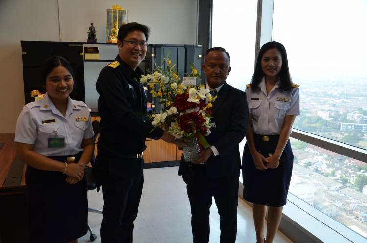 แสดงความยินดี เนื่องในโอกาสเข้ารับตำแหน่งใหม่ของ ผู้อำนวยการ สทบ. (24 กุมภาพันธ์ 2563)