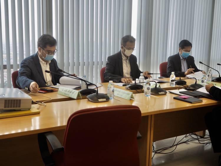 การประชุมคณะอนุกรรมการบริหารโครงการเสริมสร้างความเข้มแข็งของเศรษฐกิจฐานรากเพื่อการพัฒนาอย่างยั่งยืน ครั้งที่ 3/2563