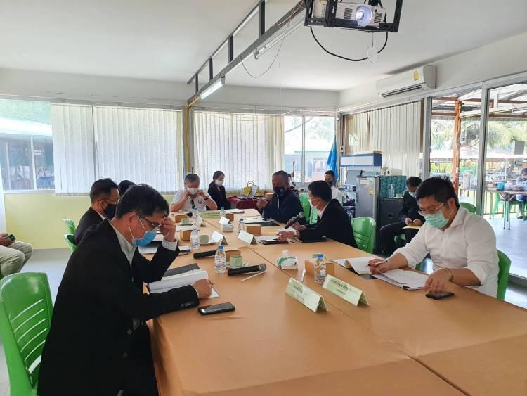 การประชุมคณะอนุกรรมการบริหารโครงการเสริมสร้างความเข้มแข็งของเศรษฐกิจฐานรากเพื่อการพัฒนาอย่างยั่งยืน ครั้งที่ 8/2563