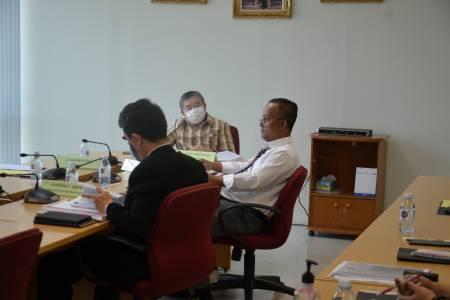 การประชุมคณะอนุกรรมการบริหารโครงการเสริมสร้างความเข้มแข็งของเศรษฐกิจฐานรากเพื่อการพัฒนาอย่างยั่งยืน ครั้งที่ 5/2563