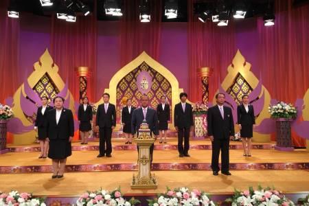 สทบ. บันทึกเทปรายการพิเศษถวายพระพรชัยมงคล สมเด็จพระนางเจ้าฯ พระบรมราชินี เนื่องในโอกาสวันเฉลิมพระชนมพรรษา 3 มิถุนายน 2563