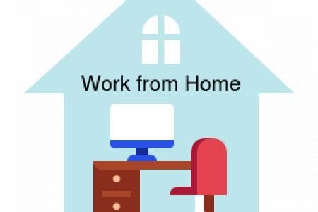 ลงชื่อเข้าปฏิบัติงาน Work From Home ของสำนักงานกองทุนหมู่บ้านและชุมชนเมืองแห่งชาติ